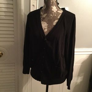 Black Lane Bryant Cardigan